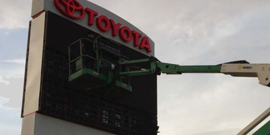 Auto LED Signs