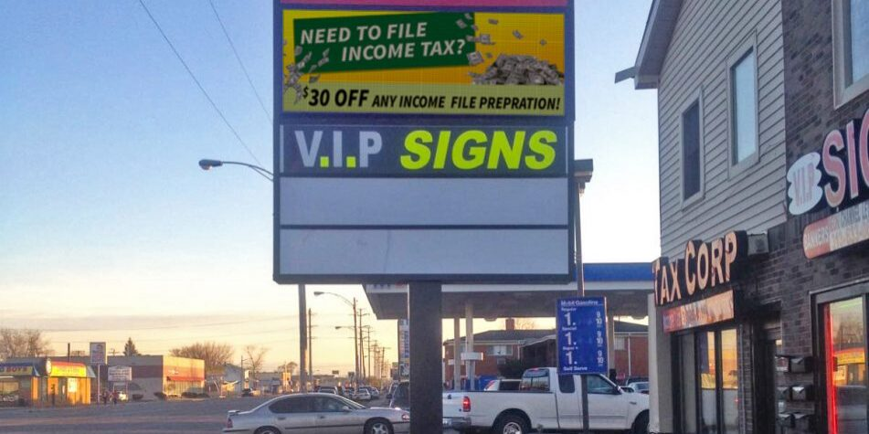 Financial LED Signs